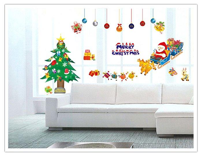 【壁貼王國】 耶誕系列 無痕壁貼 《聖誕老人 - XC1700》