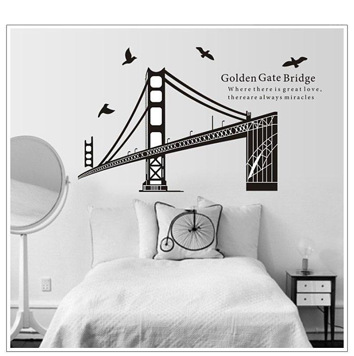 【壁貼王國】建築系列無痕壁貼 《舊金山 - AY1941》