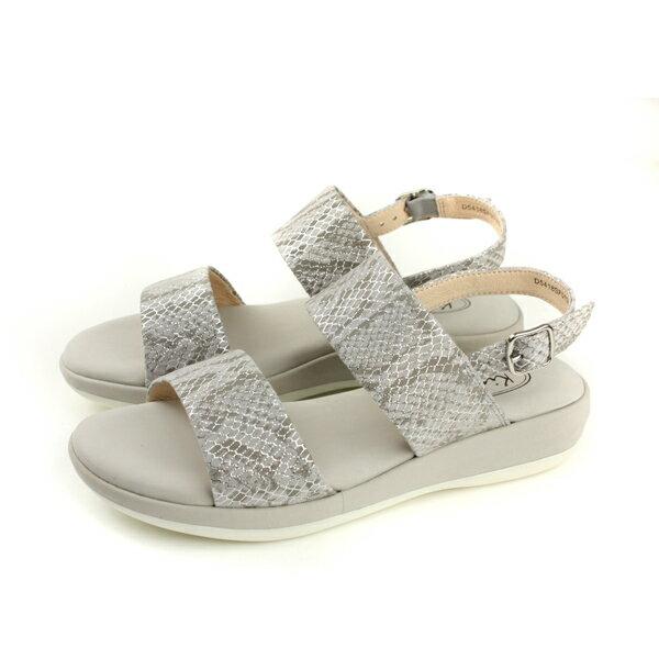 Kimo涼鞋女鞋銀灰色D5418SF010022no798