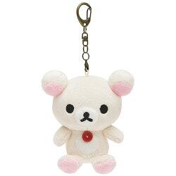 X射線【C692427】牛奶熊Korilakkuma 15週年公仔吊飾,包包掛飾/鑰匙圈/吊飾