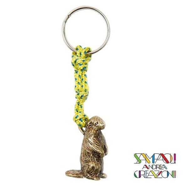 【SAC義大利】青銅掛飾吊飾-土撥鼠義大利傳統飾品工藝SAC107