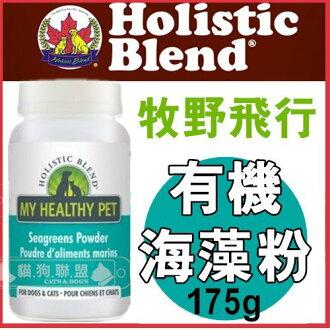 +貓狗樂園+ 加拿大Holistic Blend牧野飛行【全天然寵物保健系列。有機海藻粉。175g】910元