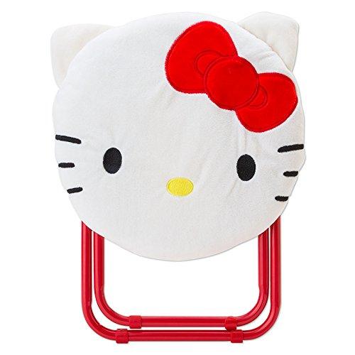 X射線【C046451】Hello Kitty 折疊椅-臉,兒童沙發椅/收納椅/造型椅/折疊椅/凳子/矮凳/板凳/椅子