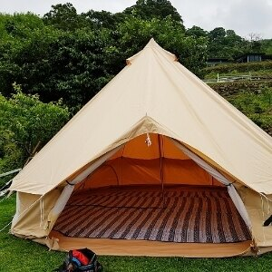 美麗大街【107051624】500x500鐘形帳篷毛骨包造型帳篷