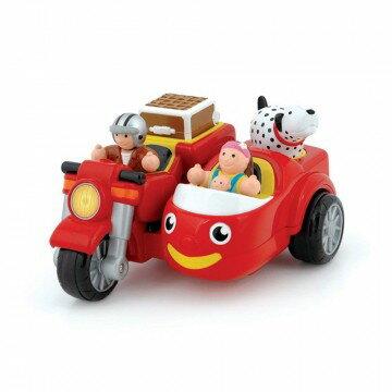 《 英國 WOW toys 》三輪摩托車 麥克斯