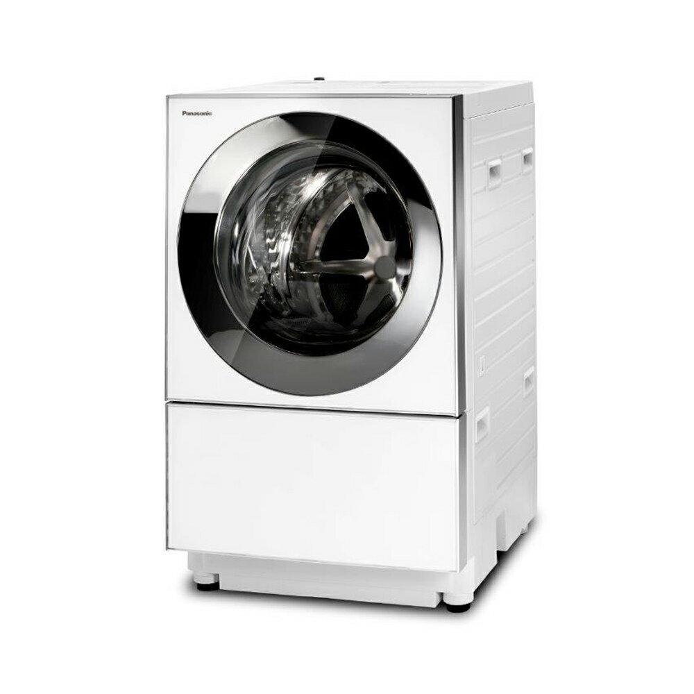 Panasonic 國際牌 10.5公斤 日本製 雙科技變頻洗脫烘cuble滾筒洗衣機 NA-D106X2WTW