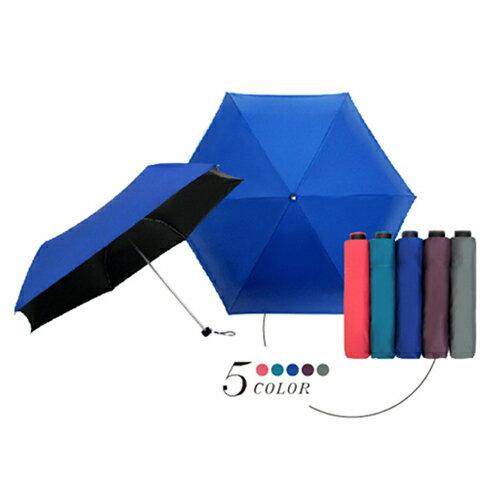 超遮光黑膠素面折傘 193g (粉 / 藍 / 綠 / 紫 / 灰) 4