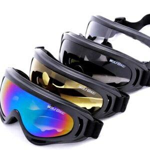 美麗大街【BK105111506】WOLF BIKE騎行眼鏡 CS護目鏡 摩托車防風鏡 騎車鏡