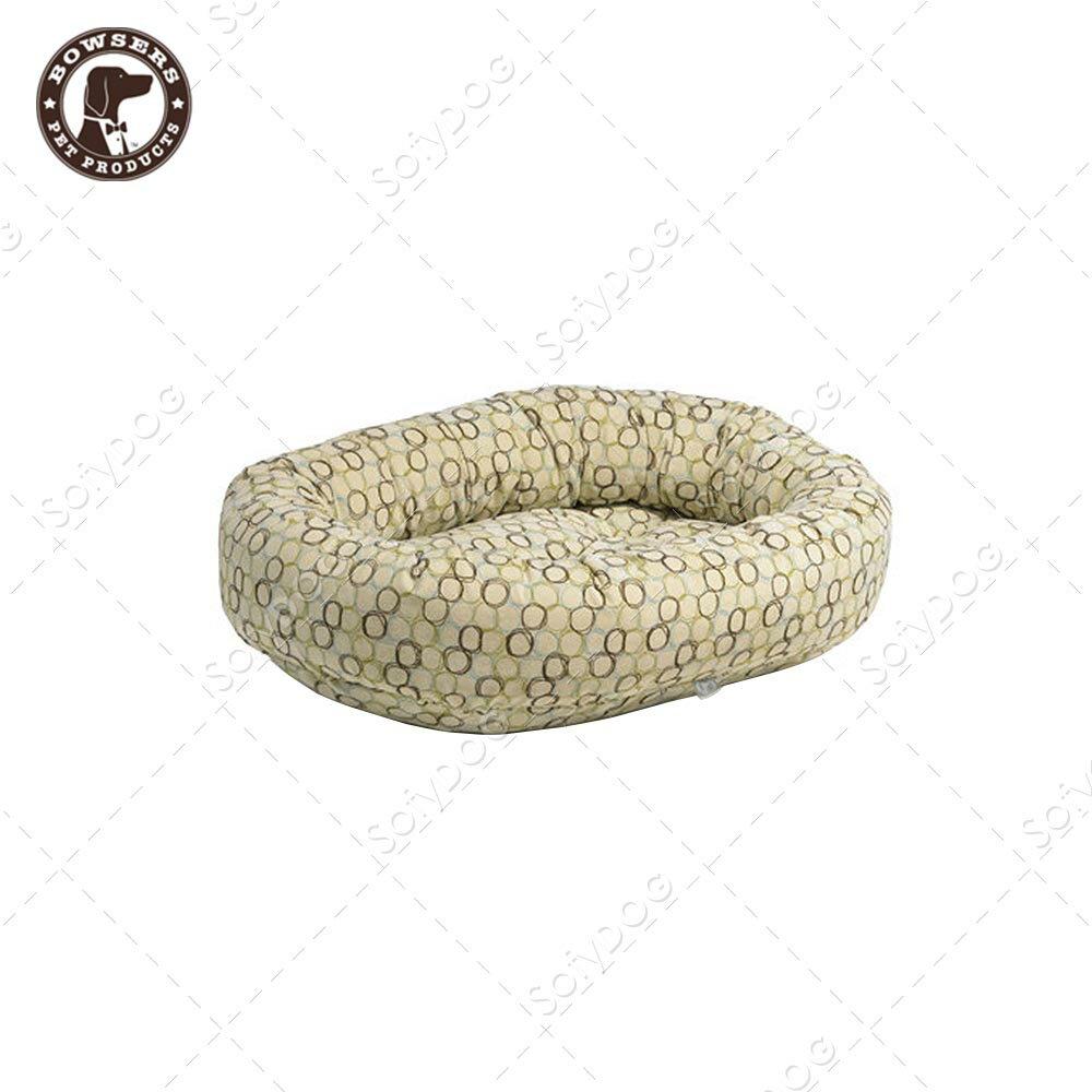 BOWSERS甜甜圈極適寵物床-套圈圈(白)-XS