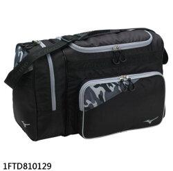 棒球世界全新Mizuno美津濃18年裝備袋(1FTD810129)特價 黑X迷彩灰配色