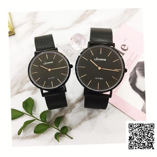 LICORNE 力抗 對錶 LT056MBBI-R LT056LBBI-R 米蘭帶