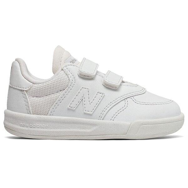 【IV300TWH】NEW BALANCE NB300 小童鞋 休閒鞋 板鞋 皮革 全白