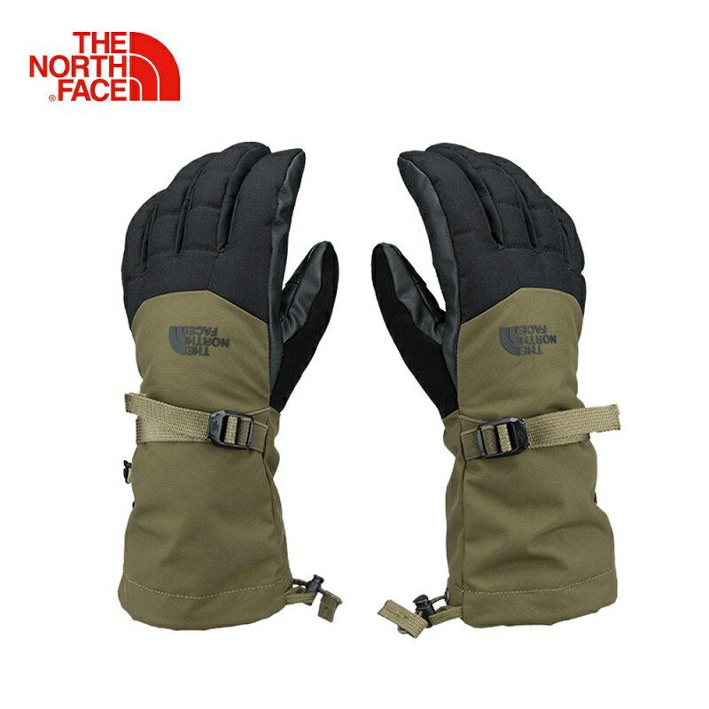 [ THE NORTH FACE ] 男 GORE-TEX 滑雪保暖觸屏手套 綠 / 公司貨 NF0A334AWMB