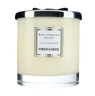 英國WaxLyrical玻璃雙蕊附蓋蠟燭-印度奶茶與青檸花(可燃60小時)