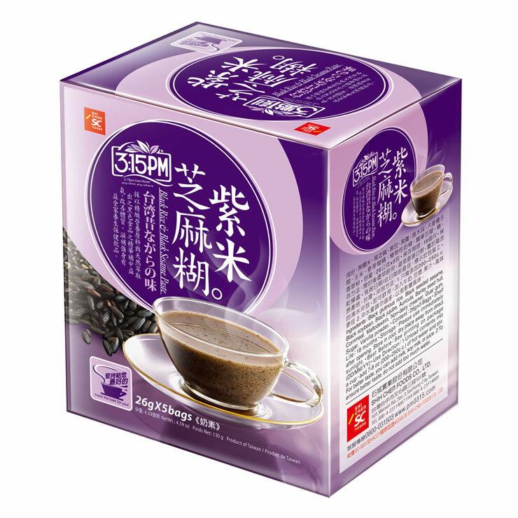 【3點1刻】紫米芝麻糊 (5入/盒)