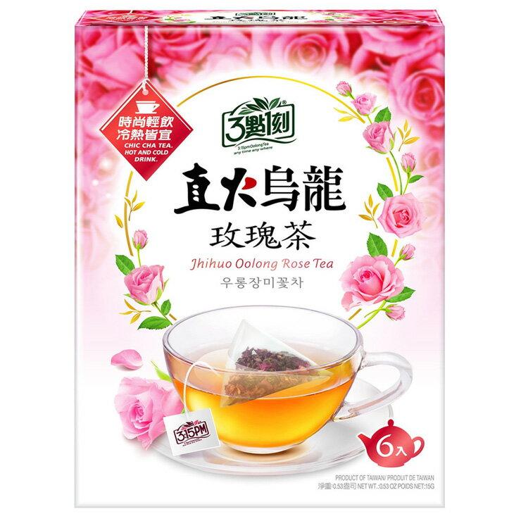 【3點1刻】直火烏龍 玫瑰茶 (6入/盒)