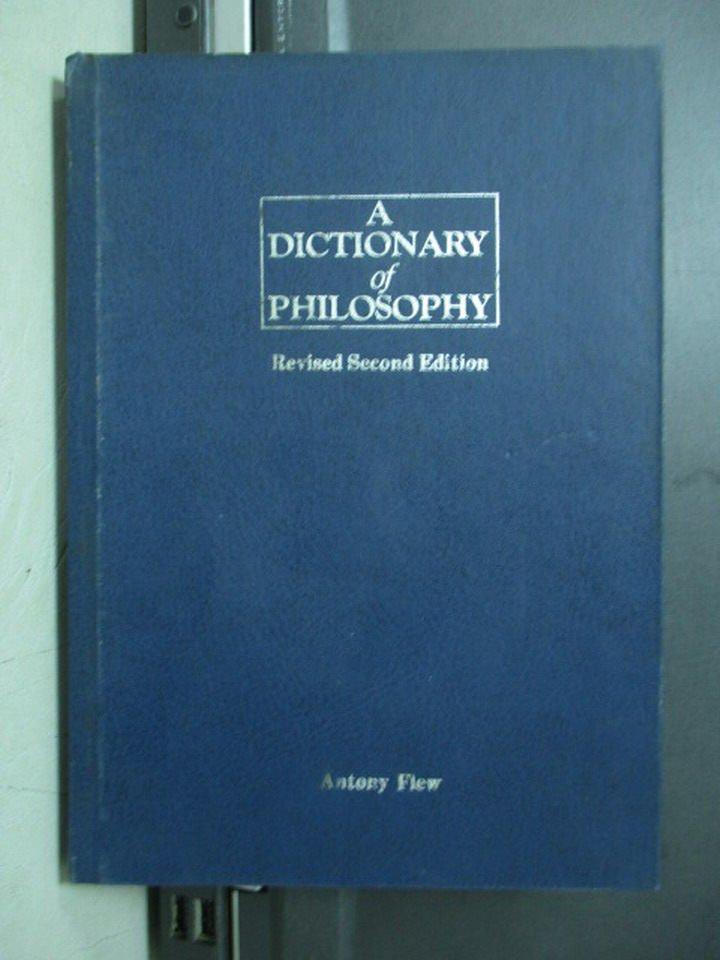 【書寶二手書T7/哲學_MPD】A Dictionary of Philosophy