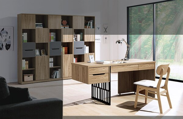 【尚品傢俱】HY-A505-03摩羅倫斯5尺書桌