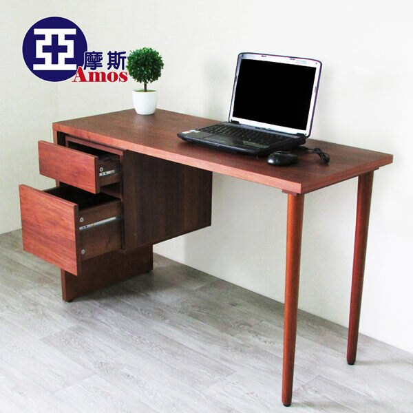 ^(新品 ^)典藏日式抽屜書桌 天然實木日系 厚板 寫字桌  外銷  Amos~DCA02