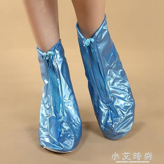 高跟防雨鞋套時尚加厚防滑耐磨底成人下雨天戶外旅游防水鞋套