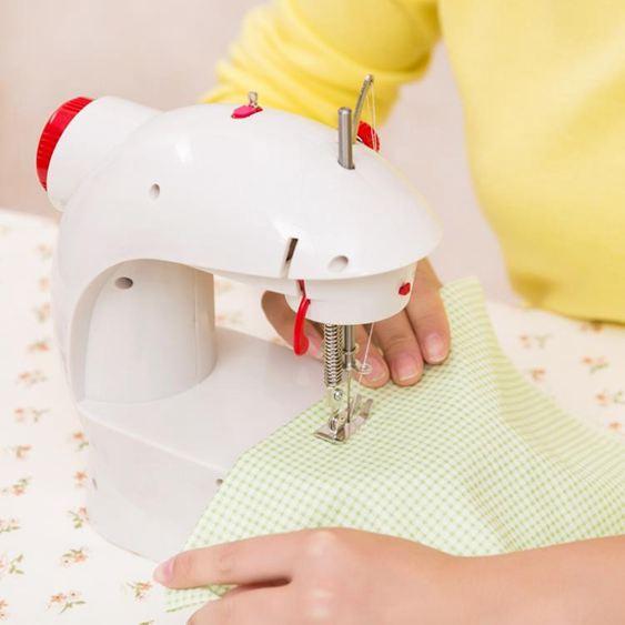 家用縫紉機201電動多功能迷你小型縫紉機臺式縫衣裁縫機 ATF