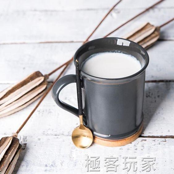 陶瓷創意咖啡杯早餐杯喝水杯家用杯子簡約牛奶杯馬克杯