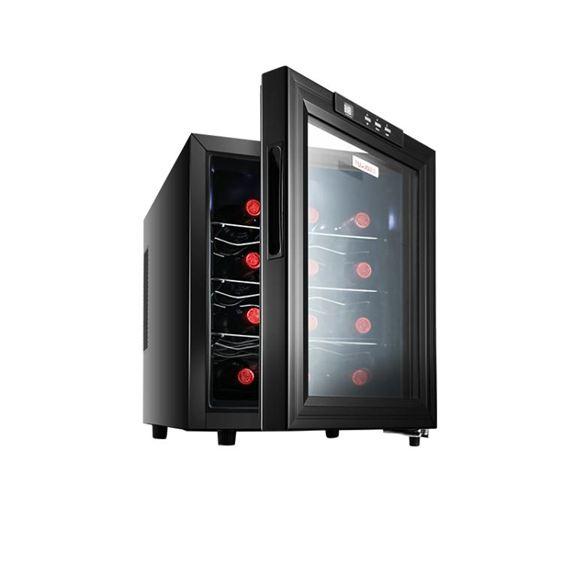 富信 JC-33AW紅酒櫃子 恒溫恒濕小型家用酒櫃冰吧冷藏櫃雪茄櫃  ATF