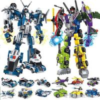 變形金剛兒童玩具推薦到拼裝積木變形金剛機器人兒童玩具拼裝益智6-12歲男女孩玩具 漾美眉韓衣就在城市玩家推薦變形金剛兒童玩具