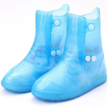 雨鞋套防滑加厚底耐磨成人防水下雨天鞋套女士男款韓國可愛高筒