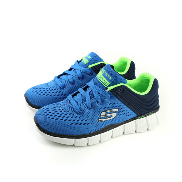 SKECHERS RELAXED FIT運動鞋 童鞋 藍色 童 no498