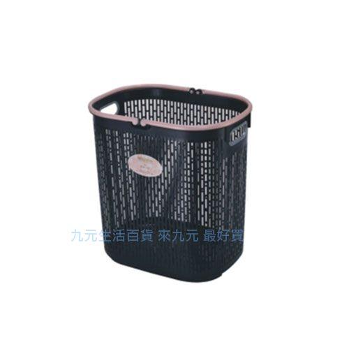 九元生活百貨:【九元生活百貨】聯府F111黑美人洗衣籃置物籃