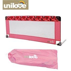 *babygo*英國 unilove 可折式床圍/床護欄【粉色】Raspberry