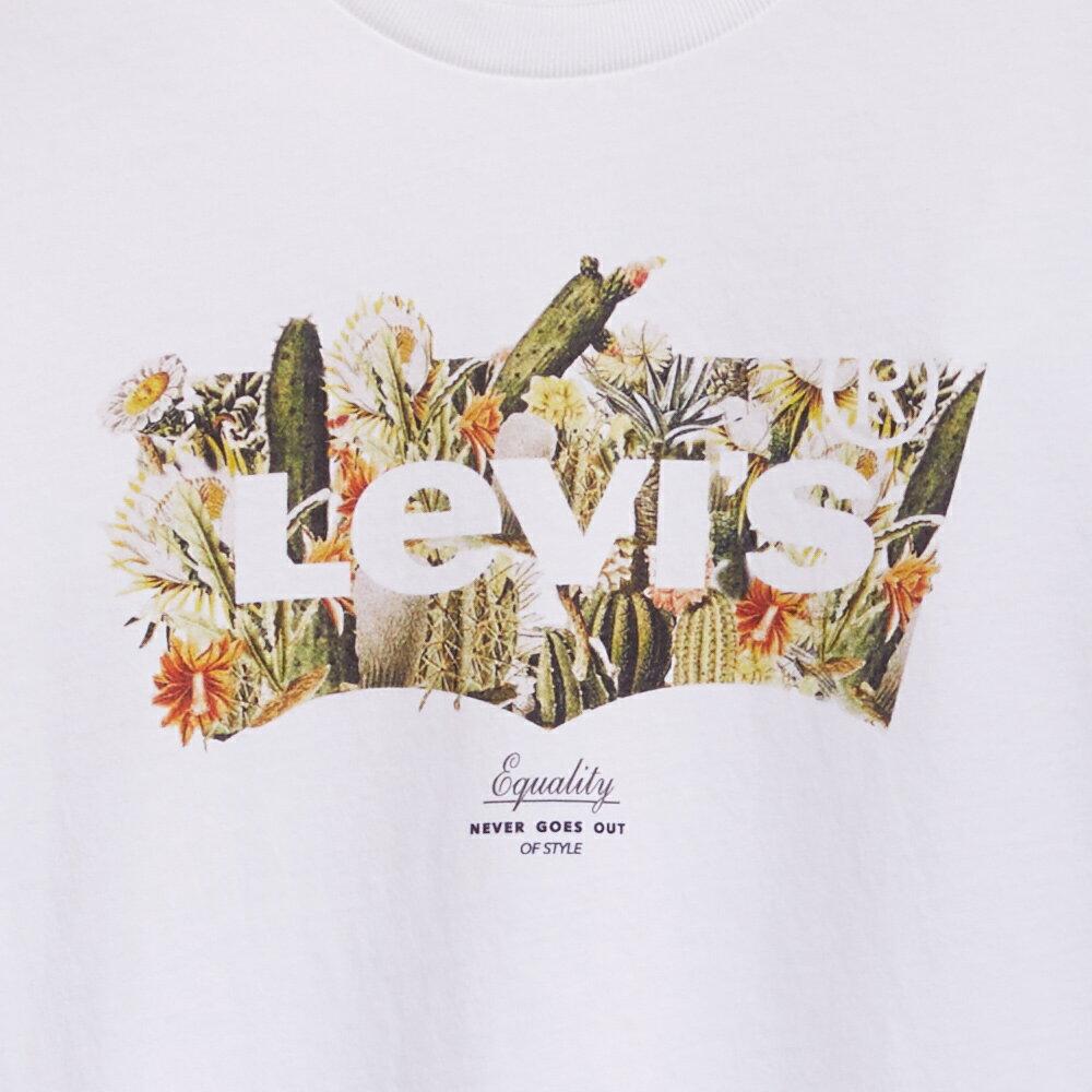 Levis 男款 短袖T恤  /  翻玩夏日Logo T  /  沙漠Logo印花-AC 4
