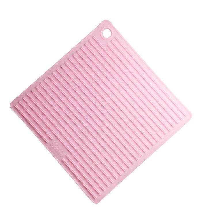 家居用品硅膠隔熱墊 可定制硅膠餐墊 方形