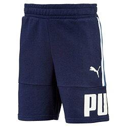 PUMA STYLE Bermuda Shorts 童裝 大童 短褲 休閒 慢跑 舒適 藍【運動世界】85023906