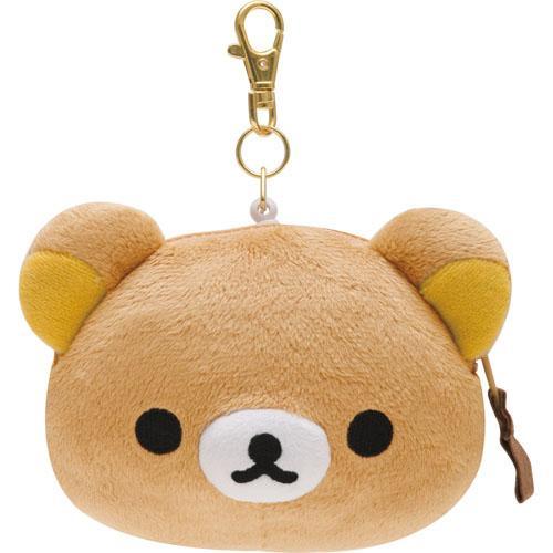 日本代購預購 日本拉拉熊 懶懶熊 伸縮票卡零錢包 滿600免運 720-198
