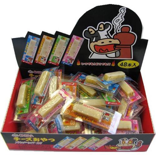 日本代購預購 滿600免運費 日本製扇屋 黑胡椒起士條 起司點心條(48入/盒) 790-025