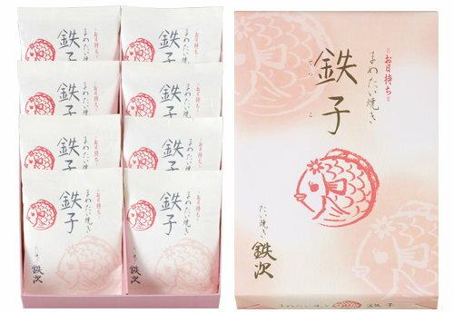 日本代購預購 空運直送 日本連線日本伴手禮 東京八重洲 鯛魚燒 紅豆餅 8個入 9102