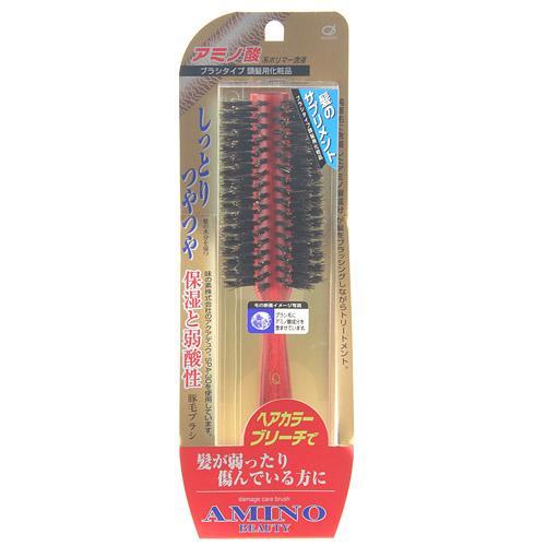 日本代購預購 滿600免運  日本製 豬鬃梳子 鬃毛髮刷 美髮梳 圓梳 梳子 660-161