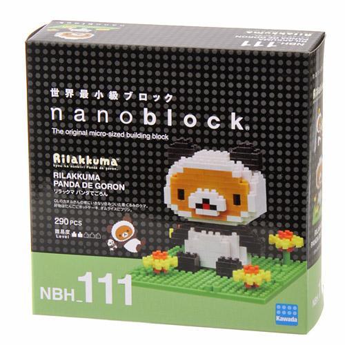 日本代購預購 nanoblock 迷你積木 拉拉熊 懶懶熊 拼圖玩具公仔盒裝  滿600免運 758-283