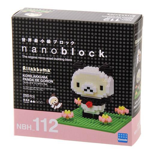 日本代購預購 nanoblock 迷你積木 拉拉熊 懶懶熊 拼圖玩具公仔盒裝  滿600免運 758-284