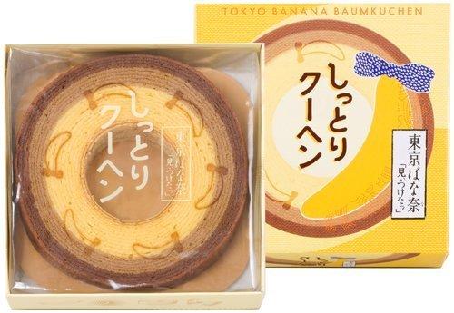日本代購預購 空運直送  滿600免運 日本東京香蕉 TOKYO BANANA 年輪蛋糕 未切版 7107-1