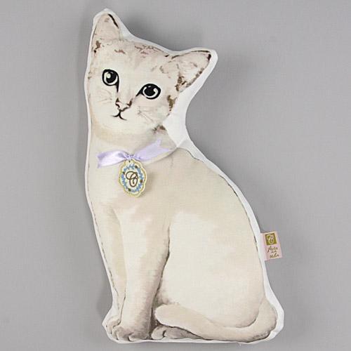 日本代購預購  滿600免運 日本KISHIMA 可愛動物抱枕娃娃 貓抱枕娃娃 家居擺飾 805-031