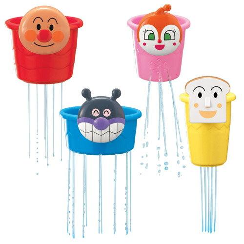 日本代購預購麵包超人兒童洗澡水杯水桶玩具1組4個滿600免運費707-538