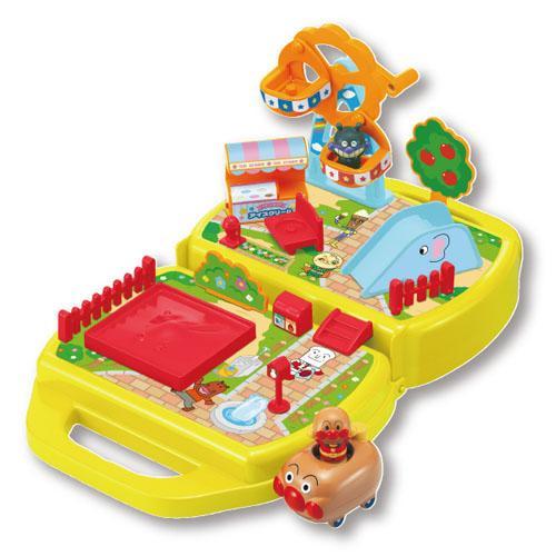 日本代購預購 ANPANMAN 麵包超人 組合公園玩具 扮家家酒 707-324
