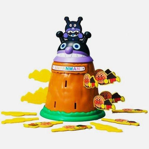 日本代購預購 滿600免運 麵包超人卡通 細菌人危機一發玩具 插插樂 玩具 707-085