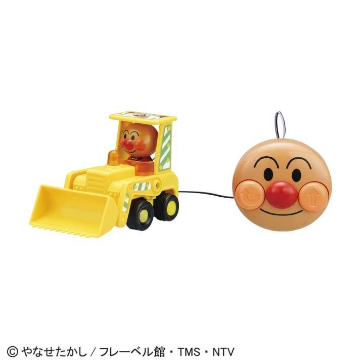 日本代購預購 滿600免運費 付款 麵包超人 有線遙控車 玩具車 交通玩具 兒童玩具 707-509