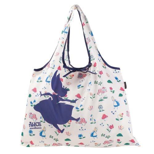 <br/><br/>  日本代購預購  滿600免運費 迪士尼 愛麗絲 輕便收納購物袋 手提袋外出袋 575-403<br/><br/>