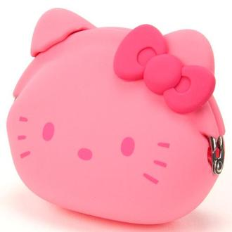 日本代購預購  滿600免運費 三麗鷗 Kitty 凱蒂貓 造型零錢包 矽膠零錢包 750-953