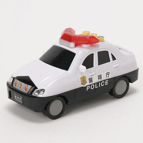 日本代購預購 警車 警察巡邏車 有聲光玩具車 兒童玩具 交通造型玩具 滿600免運 758-492